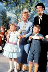 Mary Poppins with children movie poster for themed selfcatering apartment